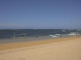 Bali 7月16日4日目午後9アウトリガーカヌー【ジュクン】