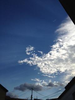 8末 秋の空