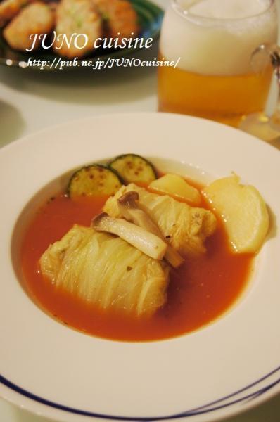 ☆鶏胸肉とモッツァレラの白菜ロール☆