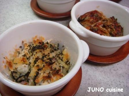 ☆牡蠣の2種オーブン焼き☆