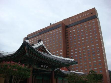 ★ソウル新羅ホテル La chambre ★