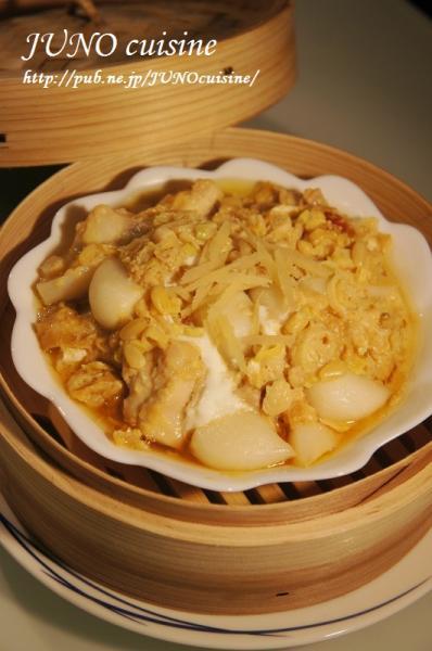 ☆鶏肉とニンニクの生姜蒸し☆