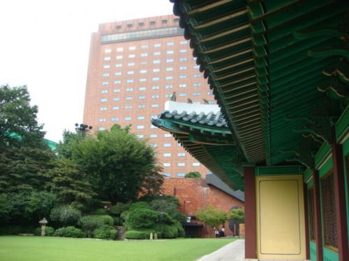 *ソウル新羅ホテルの迎賓館&プール*