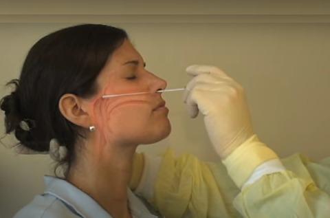 PCR鼻腔頭