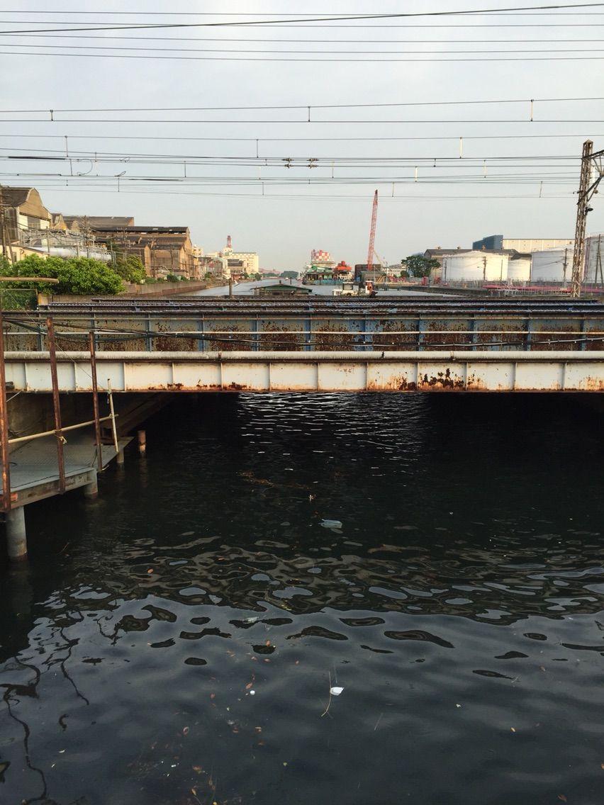 Ganylog : 京浜運河百景… #鶴見