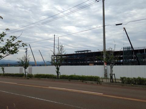 【経過観察】小松市内イオン建設現場(平成28年6月)