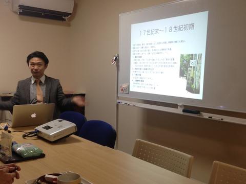 小松歴活塾「小松の絹と京都・三井越後屋」に参加しました