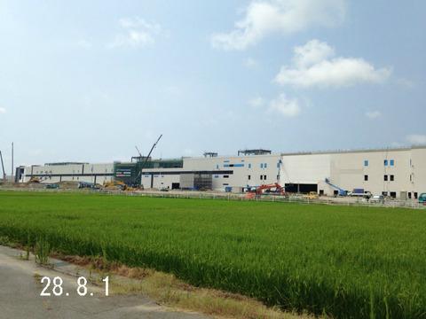 【経過観察】小松市内イオン建設現場(平成28年9月)