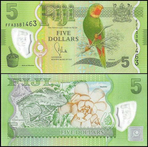 fiji 5 dollar note