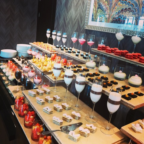 Pearl of Africa sweets buffet