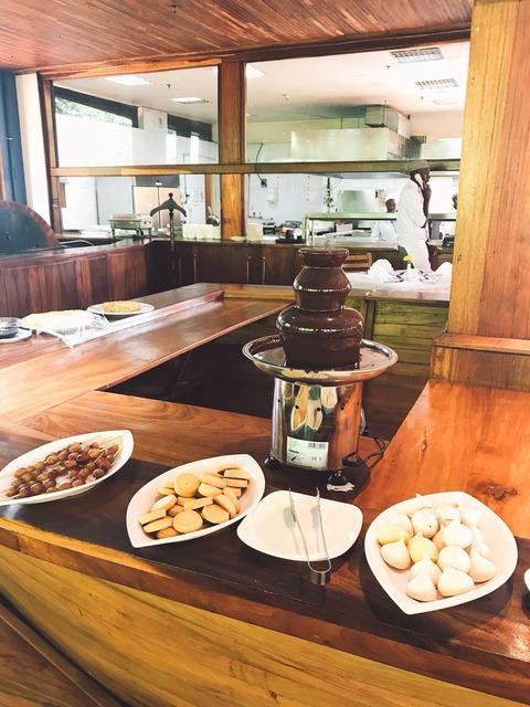 Sheraton Chocolate fountain
