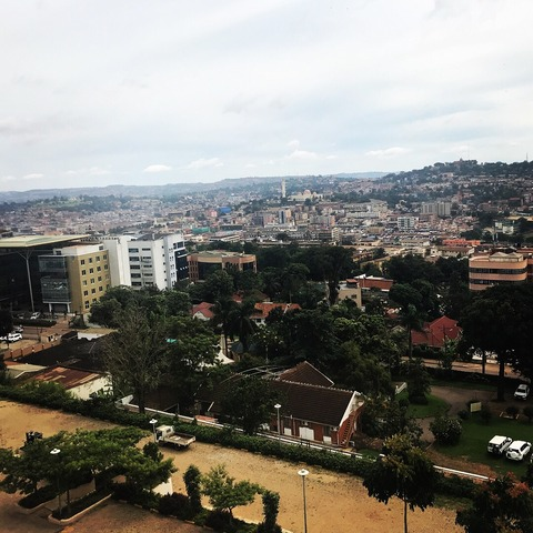 Pearl of Africa view