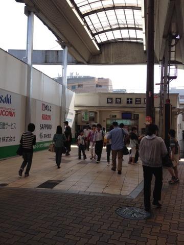 6月1日 十三駅西口改札が再開いたしました。