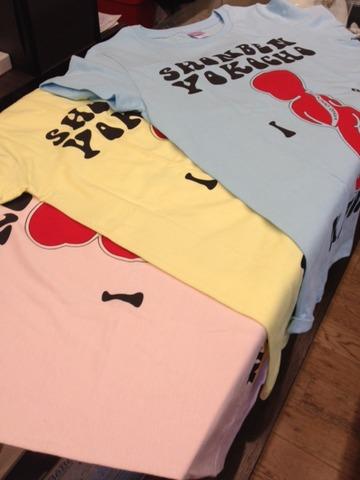 トミー君のTシャツ、キッズサイズも販売中