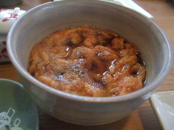 桜えびの天ぷら汁