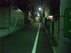 京王線線路跡の坂(売地の坂)