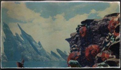 油彩画:サハギン軍陣営
