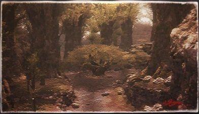 風景画:長老の木
