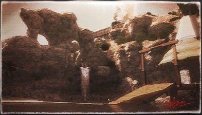 風景画:隠れ滝