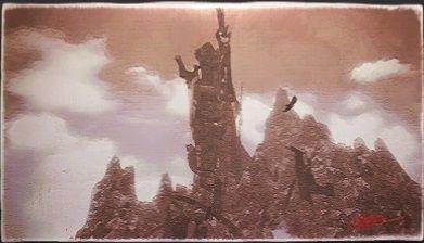 風景画:剣ヶ峰