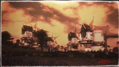 風景画:グレイフリート風車軍