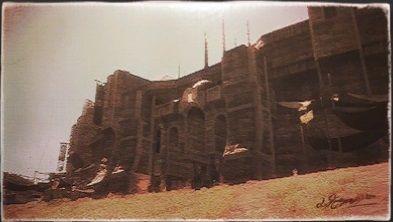 風景画:ナル大門