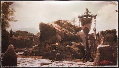 風景画:ジジルン交易商店