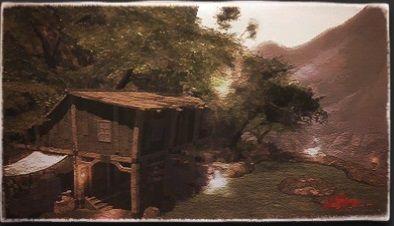 風景画:隠者の滝