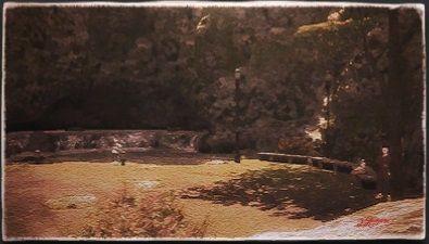 風景画:アプカル滝