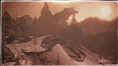 風景画:巨石の丘