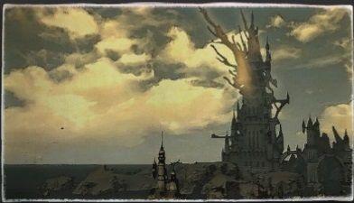 油彩画:幻影諸島