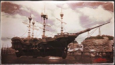 風景画:海賊船「アスタリシア号」