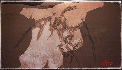 風景画:ドラゴン族の骸