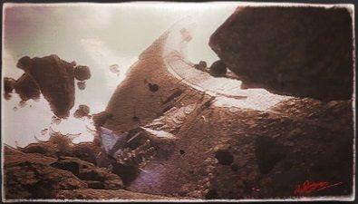 風景画:メテオの陰地