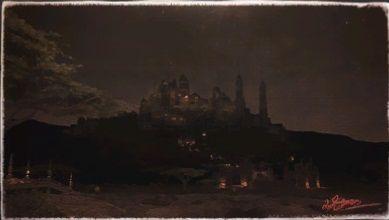 風景画:交易都市:ウルダハ