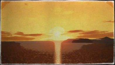 油彩画:シルバーバザー