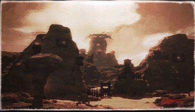 風景画:ザハラク戦陣