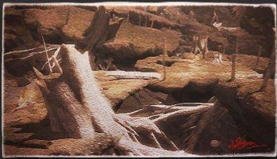 風景画:アルダースプリングス