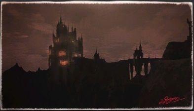 風景画:皇都イシュガルド