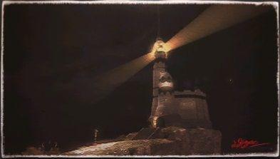 風景画:ブルワーズ灯台