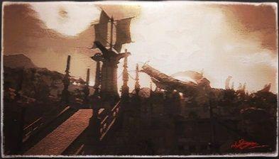 風景画:ハイブリッジ