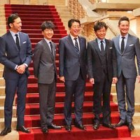 TOKIOに新メンバー!?違和感なしの安倍総理、TOKIOメンバーと懇談