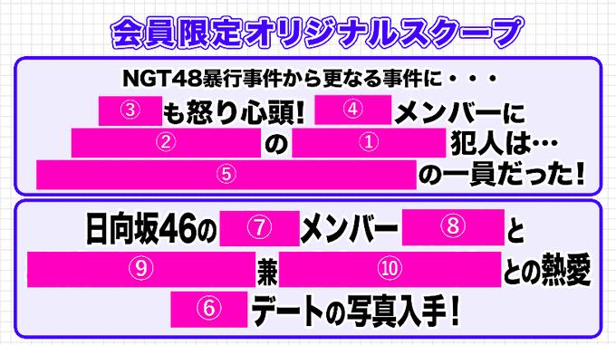 【超速報】文春砲直撃の日向坂46メンバーが判明するwwwwwwwwwwwww
