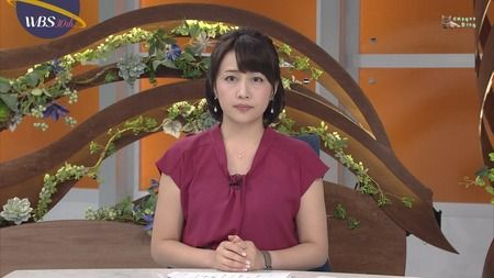 相内優香 WBS 18/07/18