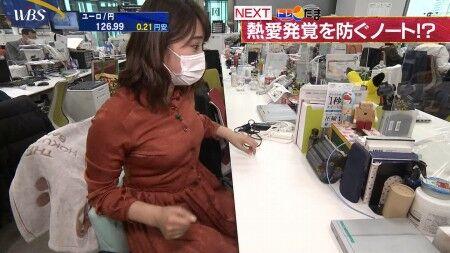 北村まあさアナ ムチムチ巨乳ボディ&ガサツな手コキセクシー画像