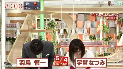 宇賀なつみ モーニングショー 18/05/04