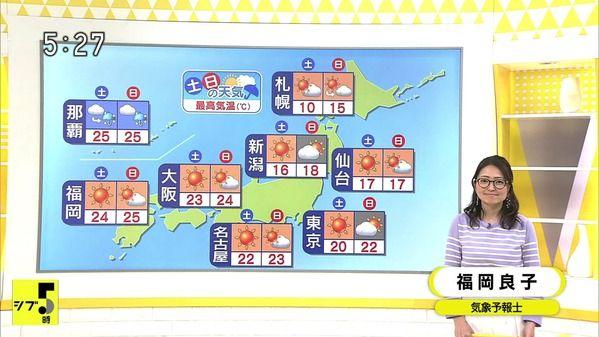 【画像】今日の福岡良子さん 4.19