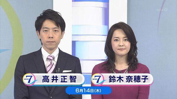 【画像】今日の鈴木奈穂子さんと関口奈美さん 6.14