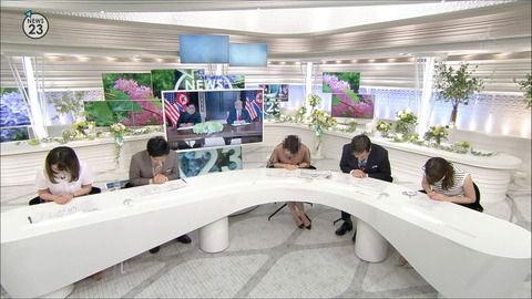 皆川玲奈 NEWS23 18/06/13
