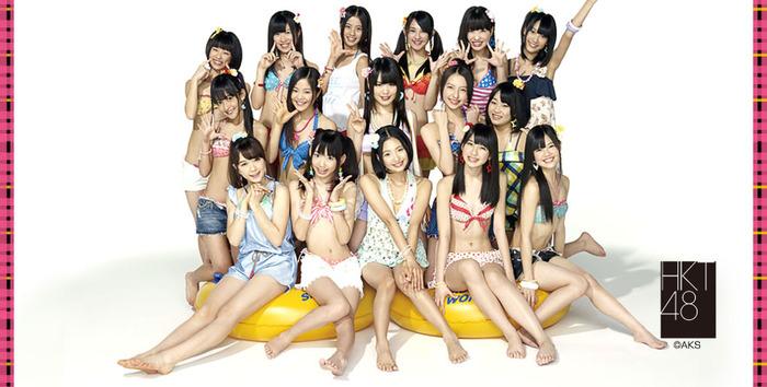 【画像31枚!】HKT48のセクシーで可愛い水着画像、高画質まとめ!!!